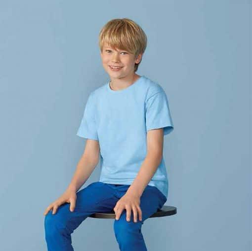 G76000B Gildan Premium Cotton Youth T-Shirt
