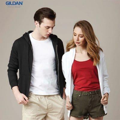 G88600 Gildan Heavy Blend Adult Full Zip Hooded Sweatshirt