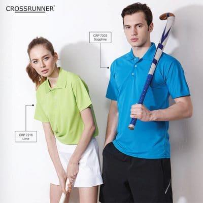 CRP7200 Crossrunner Performance Dry Pique Polo Tee