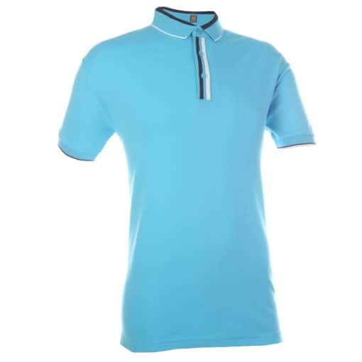 COTTON INTERLOCK POLO TEE