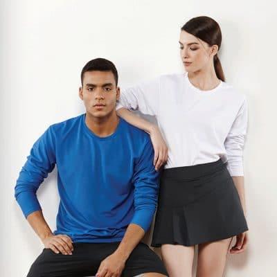 CRR36400 Crossrunner Performance Dry Pique Long Sleeve T-Shirt