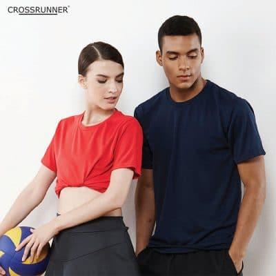 CRR3900 Crossrunner Plus Performance Dry Pique T-Shirt