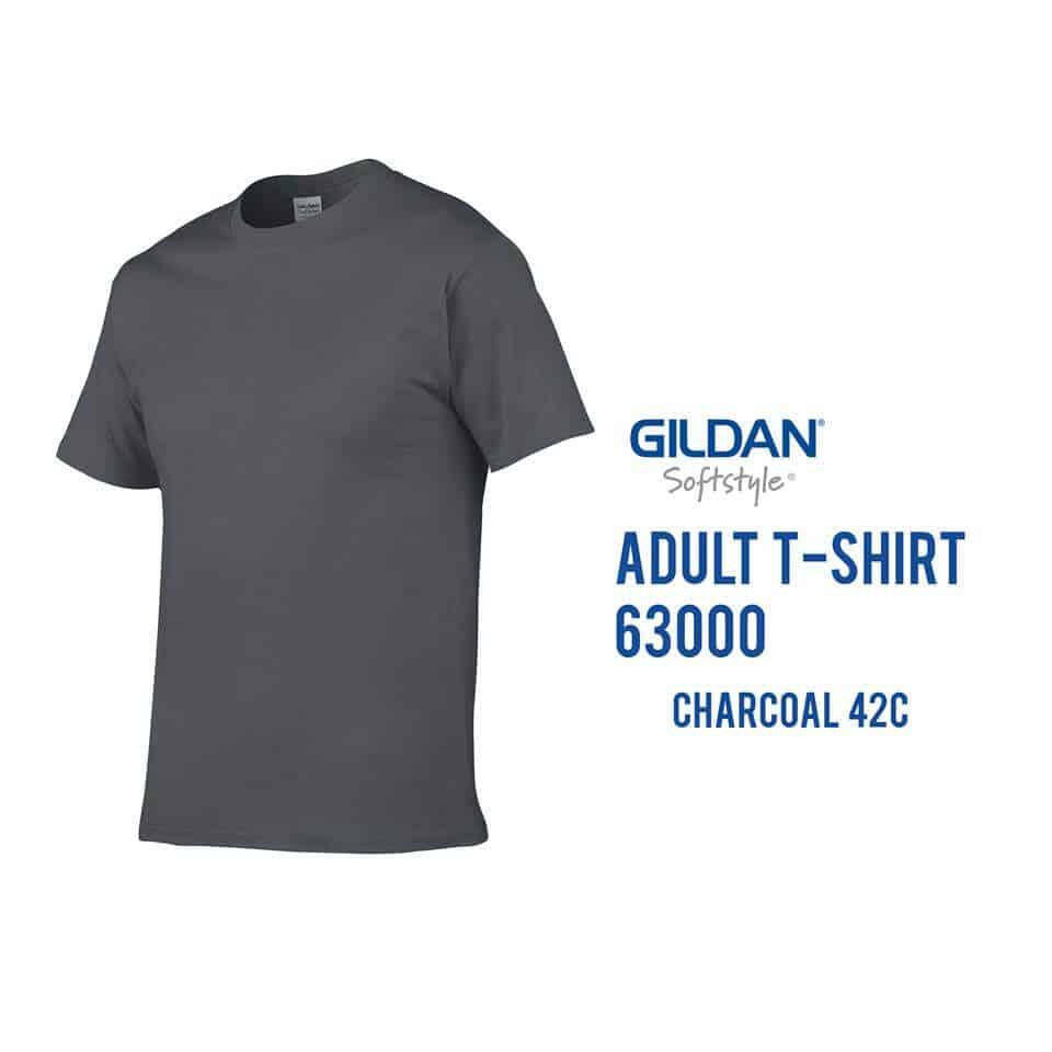 G63000 gildan softstyle cotton t shirt for Gildan t shirt printing