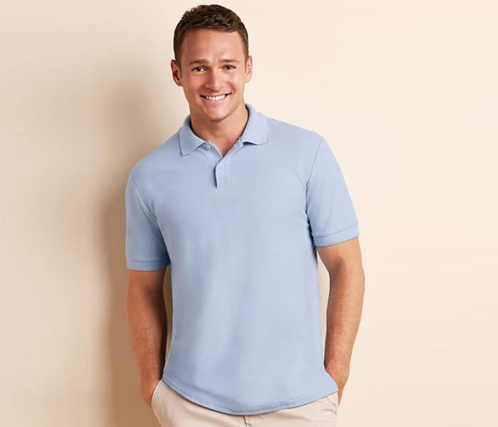 G73800 Gildan Easy Care Blended Adult Polo Tee