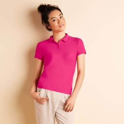 73800L Gildan Easy Care Blended Female Polo Tee