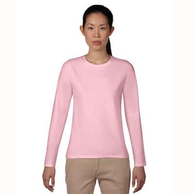 Gildan Premium Cotton Long Sleeve Ladies T-Shirt