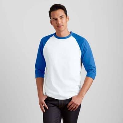 Gildan 3/4 Raglan Baseball T-Shirt