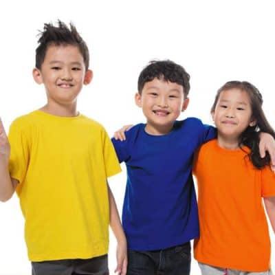 Comfy Cotton Children Round Neck T-Shirt