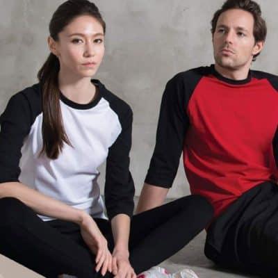 Comfy Cotton 3/4 Sleeve Raglan T-Shirt