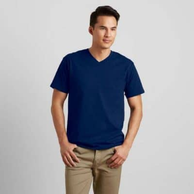 G63V00 GILDAN V-NECK SOFTSTYLE T-SHIRT