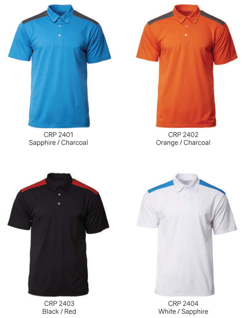 CRP2400 Color Chart