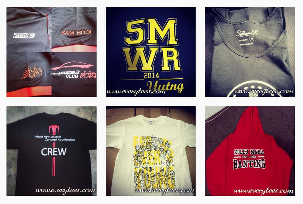 The Best T-Shirt Printing in Malaysia