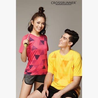 CRR1900 Crossrunner Trimosaic Jersey T-Shirt