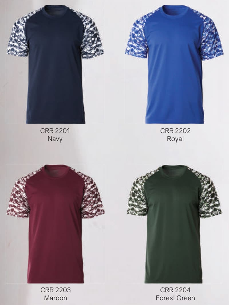 CRR2200 Color Chart