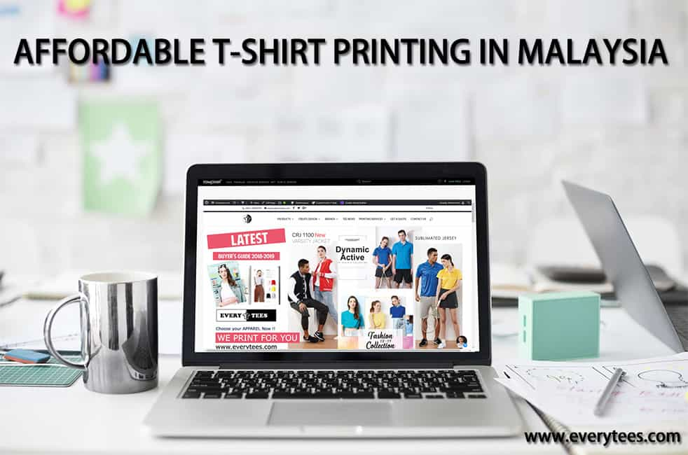 AFFORDABLE T-SHIRT PRINTING IN MALAYSIA