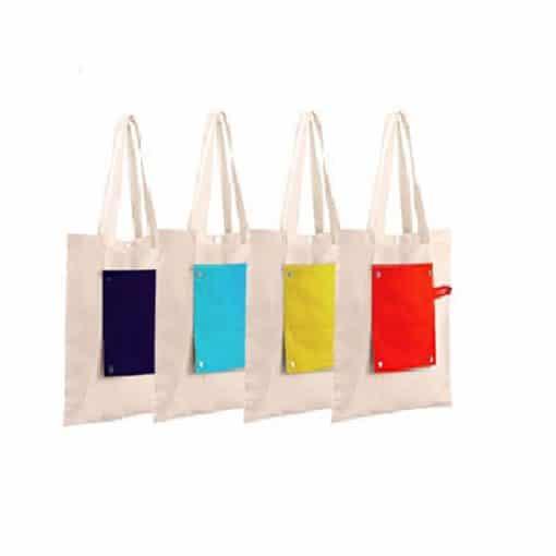 CR311 Foldable Canvas Bag