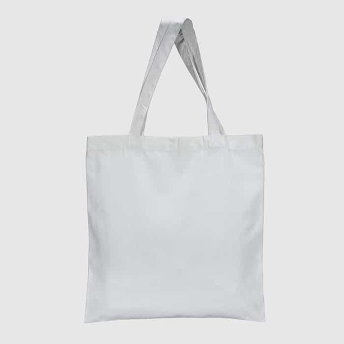 CR397 White Canvas Bag