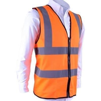 SV 02 Safety Orange Front
