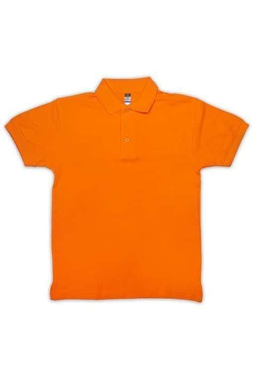 honeycomb kid polo tshirt orange