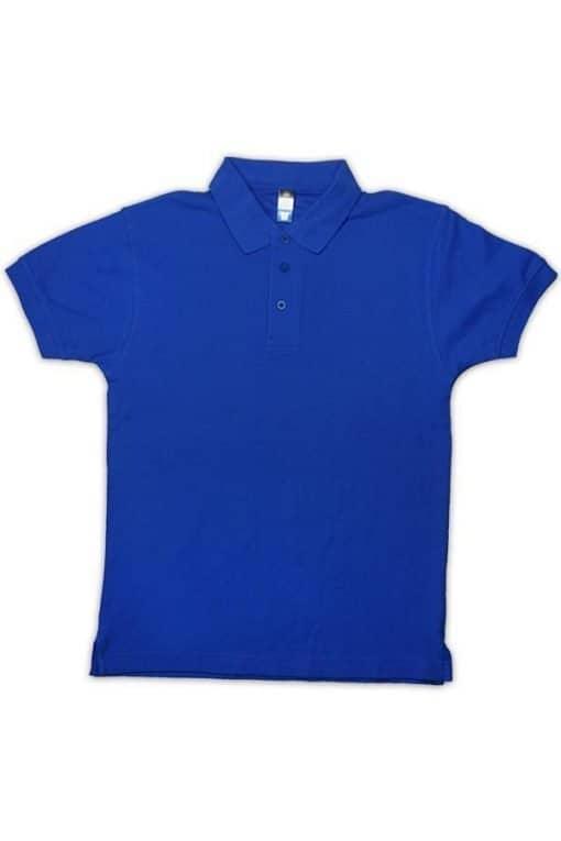 honeycomb kid polo tshirt royal blue