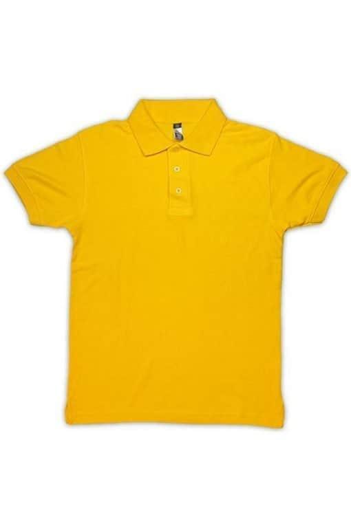 honeycomb kid polo tshirt yellow7