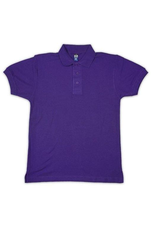 honeycomb purple polo tshirt purple