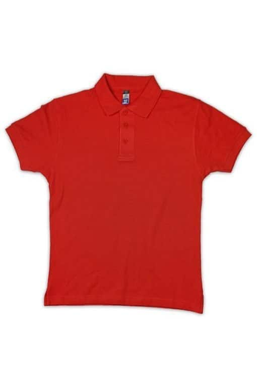 honeycomb red polo tshirt red