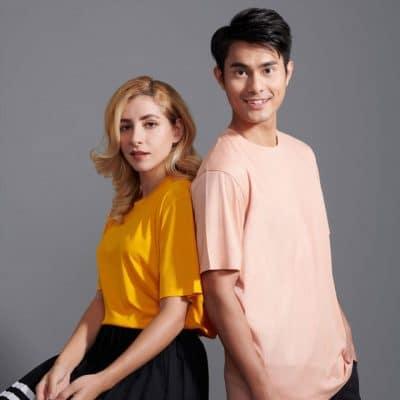 QD66 Polyester T-Shirt cover